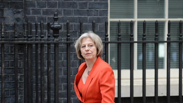 Theresa May said police cells were not the correct place for the mentally ill