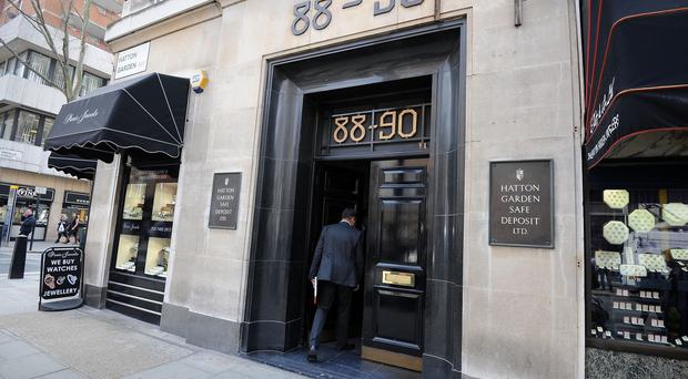 It is alleged that the men plotted together to enter Hatton Garden Safety Deposit as trespassers, with intent to steal therein