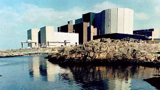 Wylfa nuclear power station in Anglesey, North Wales