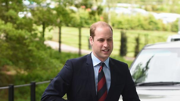 The Duke of Cambridge has long been a supporter of the charity