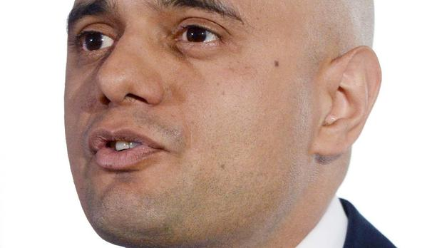 Then culture secretary Sajid Javid was opposed to Theresa May's plans to vet TV programmes for extremism