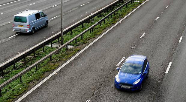 Britain's motorway network has grown by just 54 miles since David Cameron became Prime Minister in 2010