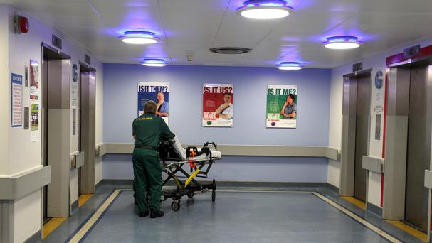 Waiting figures have improved but are still short of the 95% target for accident and emergency care