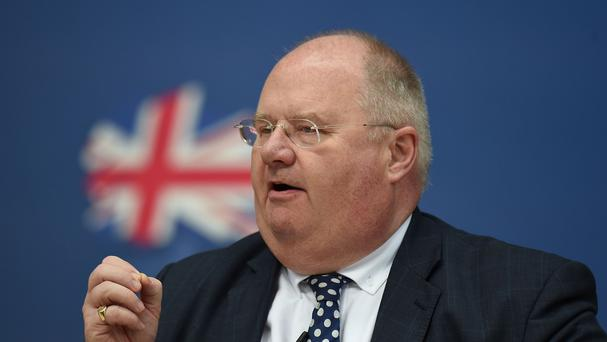 Eric Pickles lost his frontbench job after the election