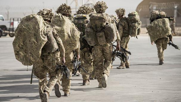 The armed forces are preparing for £35 billion of budget cuts in the next decade and the loss of up to 30,000 troops, according to research