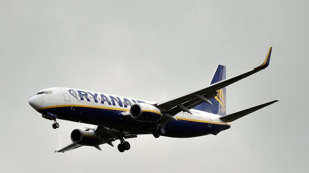 Ryanair posted post-tax profits of 867 million euros (£614 million) for the year to the end of March