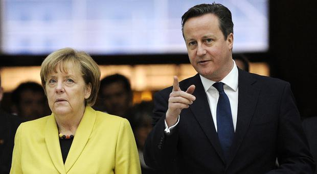 Angela Merkel and David Cameron will meet in Berlin