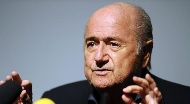 Sepp Blatter said despite the growing scandal that he