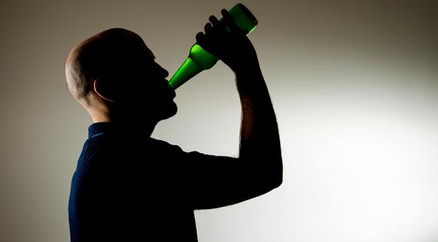 Older people are more likely to be drinking at high-risk levels, a charity said