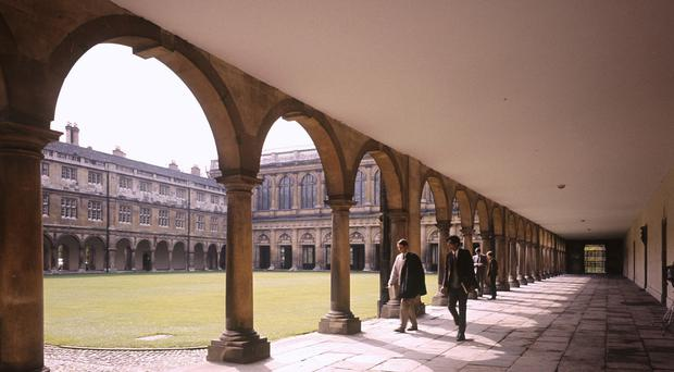 There are around five applicants for every place offered at Cambridge