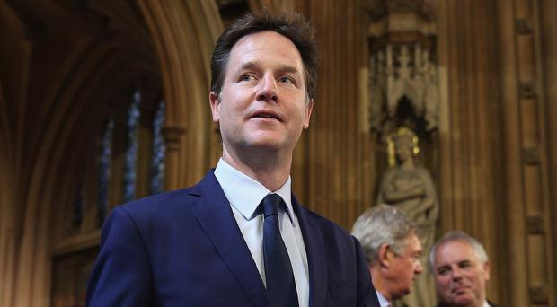 Former Deputy Prime Minister Nick Clegg is reportedly on a confidential Russian 'stop list'