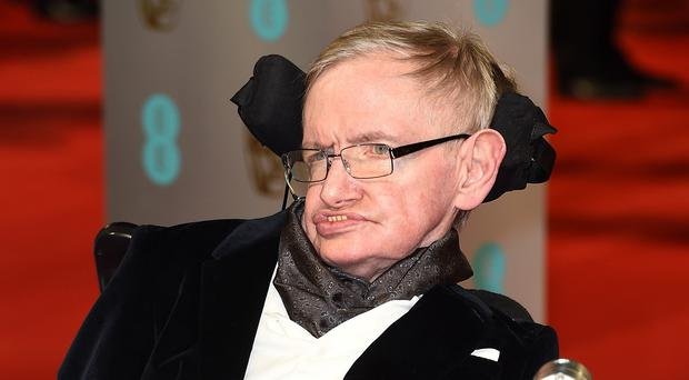 Stephen Hawking was at an event to celebrate his 50th year as a fellow at the University of Cambridge's Gonville and Caius College