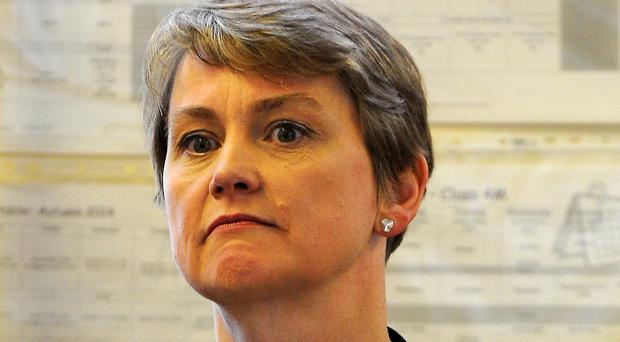Yvette Cooper hit out at