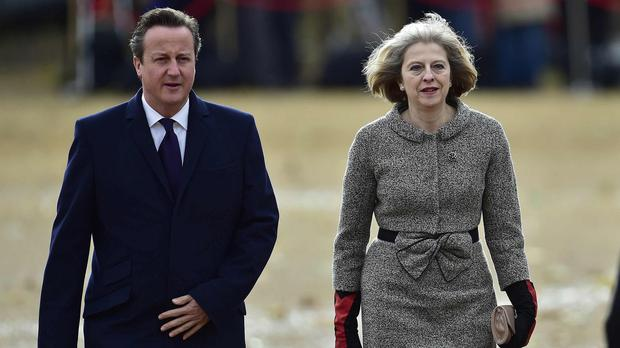 David Cameron and Theresa May are reported to be at odds over the European Convention on Human Rights