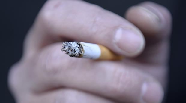 A health visitor highlighted concerns about the level of cigarette smoke at his home