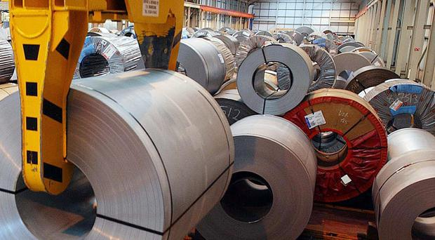 The manufacturing sector has put in a lacklustre performance, figures show