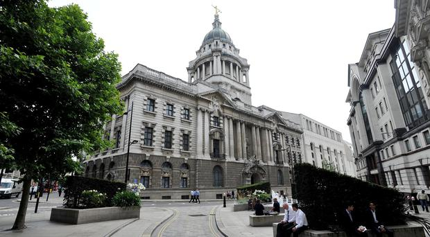 Colin McSweeny is on trial at the Old Bailey accused of murdering his son