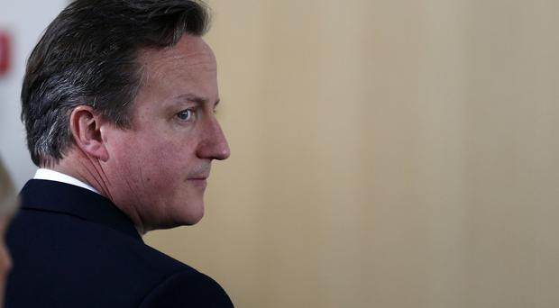 David Cameron was accused of being a