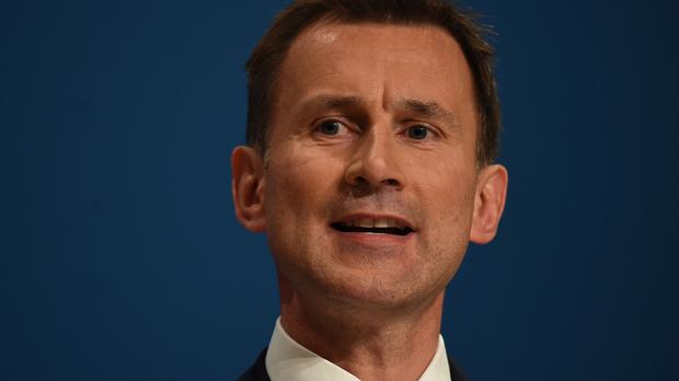Jeremy Hunt said an immediate cap of £50,000 will be applied to all management consultancy contracts