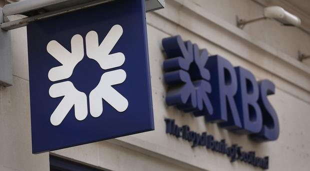 Royal Bank of Scotland has been languishing well below the Government's break-even price of around £5 per share and closed on Monday at 341.4p