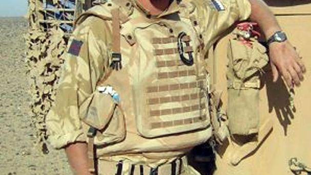 Army reservist Corporal James Dunsby, who collapsed and died during an SAS training exercise