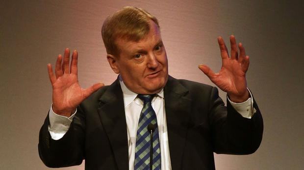 Former Liberal Democrat leader Charles Kennedy who has died aged 55.