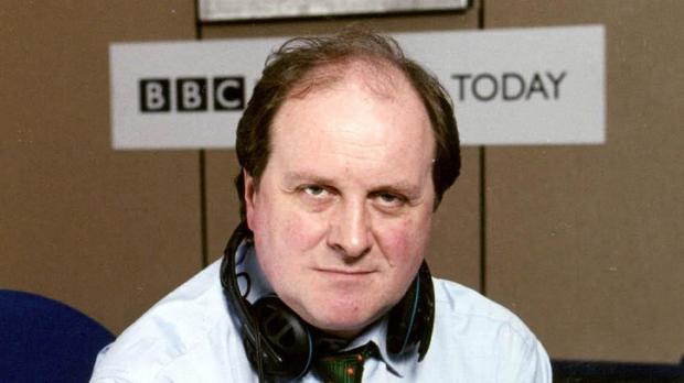 Today presenter James Naughtie admitted he had been 'a bit sloppy'