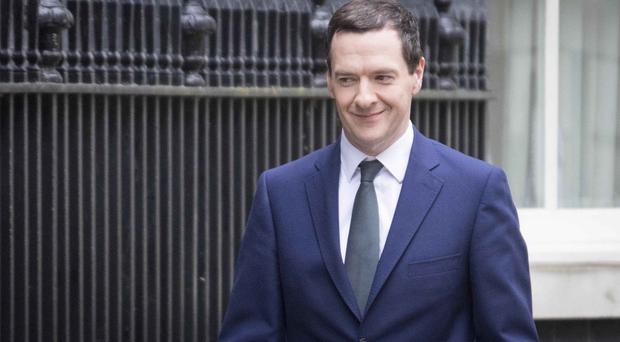 George Osborne announced the sale in the Commons