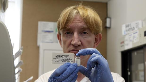 Ebola expert Professor Adrian Hill said there had been the potential for