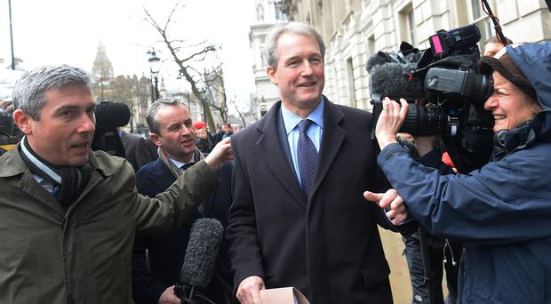 Former minister Owen Paterson is a backer of the Conservatives for Britain group