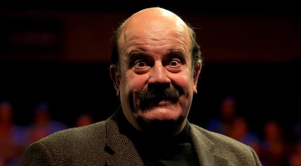 Willie Thorne, pictured during the 2014 Coral UK Championship at the Barbican Centre, York, says he is battling prostate cancer.