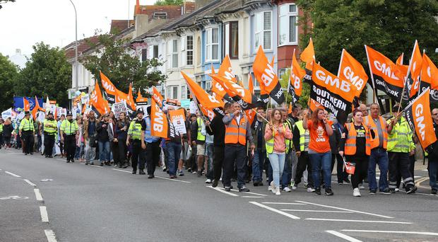 Delegates at the GMB conference will discuss Government plans to make union strike ballots illegal unless they have a 50% turnout