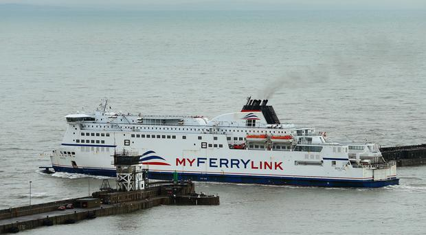 Eurotunnel is to sell its MyFerryLink ferries to cross-Channel rival DFDS