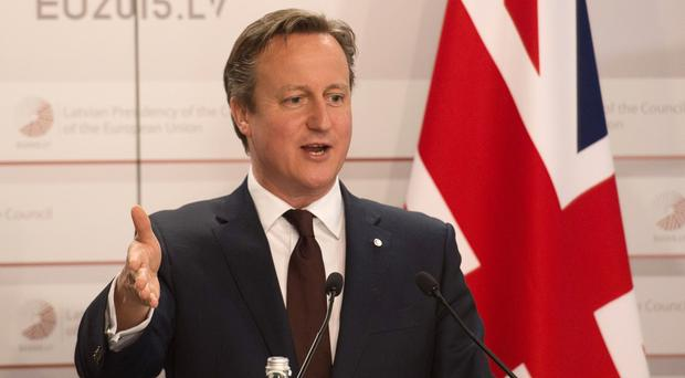 David Cameron will head to Brussels for a summit where he is to hold talks with key players