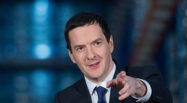 Chancellor of the Exchequer George Osborne.