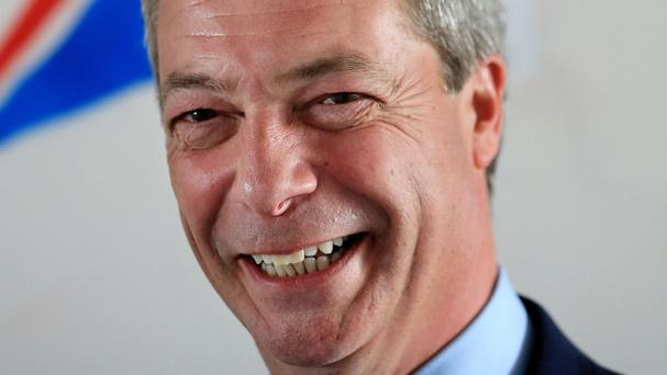 Nigel Farage said the European Parliament had 'got the wind up'