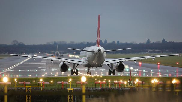 A decision on a new runway was expected to be delivered this month