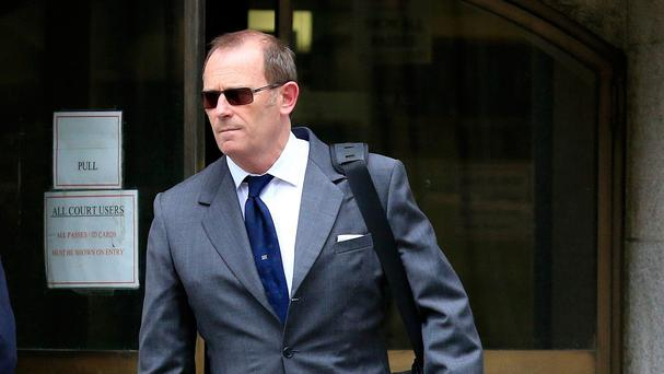 Ex-specialist firearms officer Anthony Long at the Old Bailey, where he faces trial for the murder of Azelle Rodney.