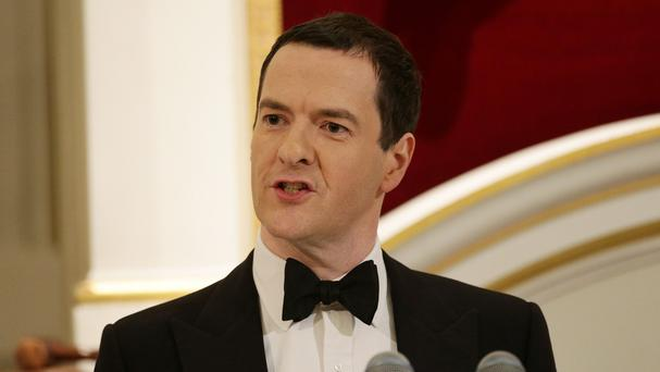 George Osborne says the size of the Government's holding in RBS means the sell-off will take