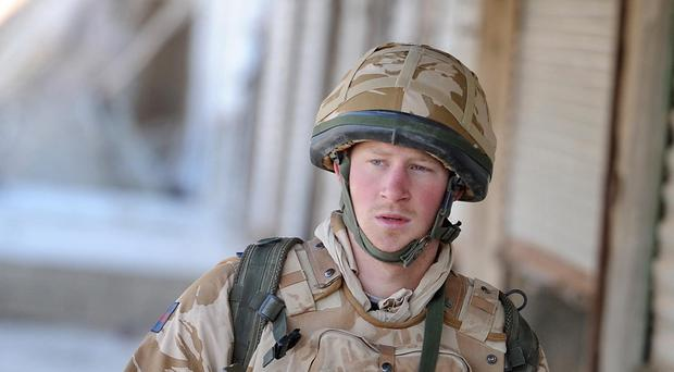 Prince Harry served in Afghanistan