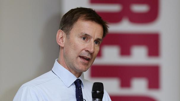 Jeremy Hunt has described Lord Carter's findings as
