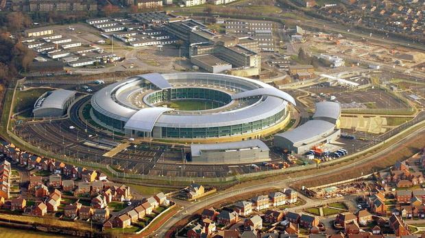The Government spy agency GCHQ in Cheltenham