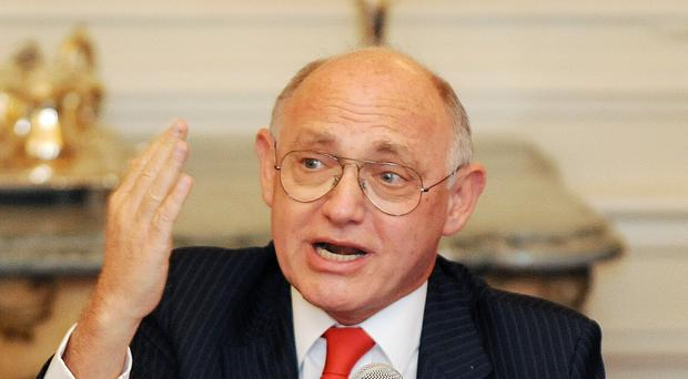Argentinian foreign minister Hector Timerman raised the subject of the Falklands at a dinner