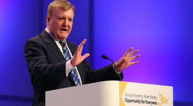 Charles Kennedy lost his seat at the general election