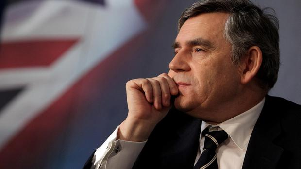 Gordon Brown has condemned what he called 'divide and rule' tactics being used by the Tories