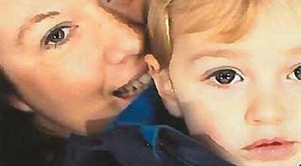 Rebecca Minnock went on the run with her son Ethan for 17 days