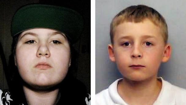 Amy Dilworth, 15, is believed to have run away with Kieran Sampson, 12 (Thames Valley Police/PA)