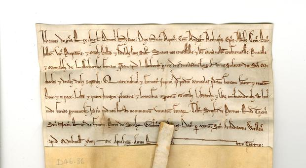 The Magna Carta is 800 years old