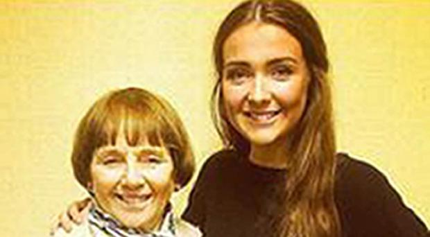 Lorraine Sweeney (left) and her granddaughter Erin McQuade (right) were among six people killed in the Glasgow bin lorry crash (Police Scotland/PA)