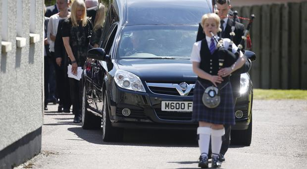 Hundreds of people attended Charles Kennedy's funeral in Caol, Fort William, last Friday